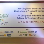 CONGRESSO BRASILEIRO DE FLORICULTURA NO MAR HOTEL